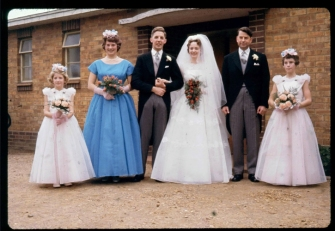 Mum and Dad's wedding in 1961