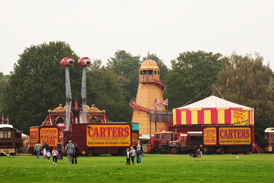 Carters Steam Fair At Englefield Green 9th October 2010 A Few