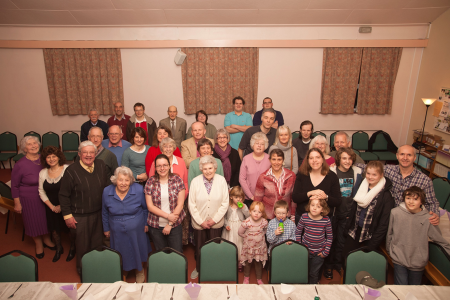 Group shot from the 2012 Annual Meal