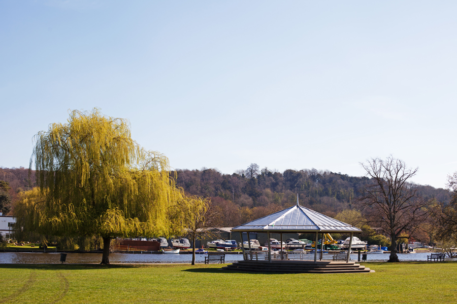Bandstand by the river