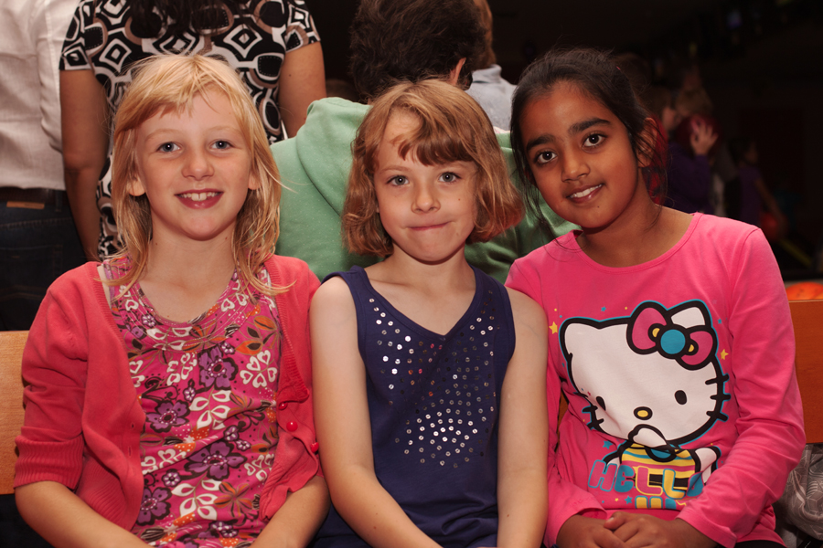 Rebekah with her two best friends - Maisy and Tanisha