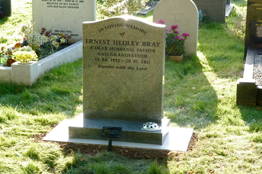 Dad's gravestone