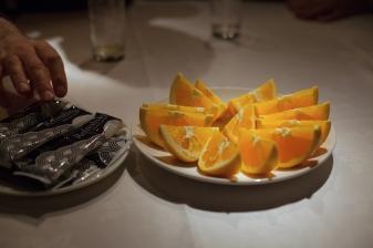 Orange segments
