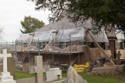 Work on the vestry continuing