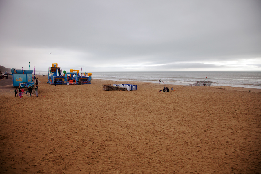 Plenty of space on the beach