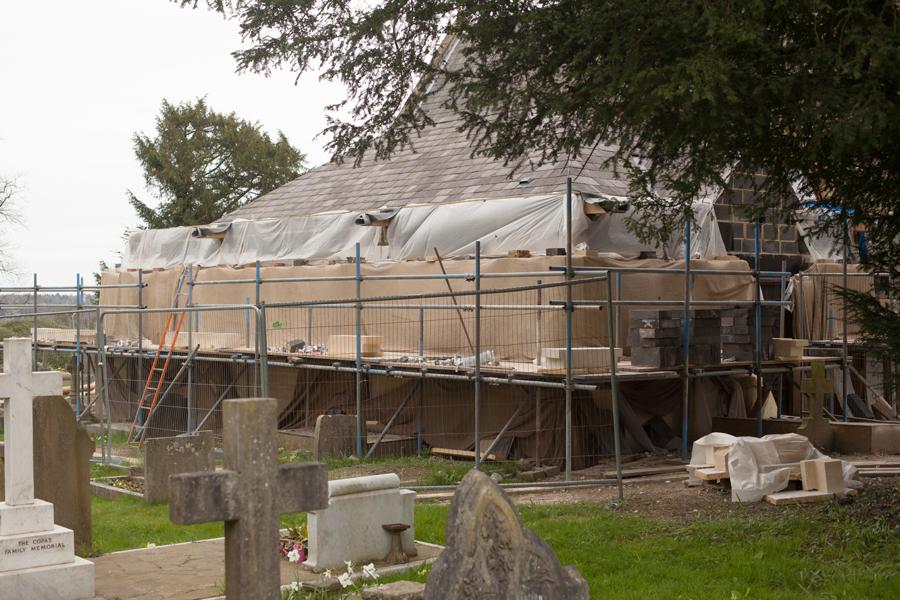 Vestry extension still progressing