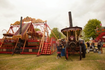 One of the steam engines