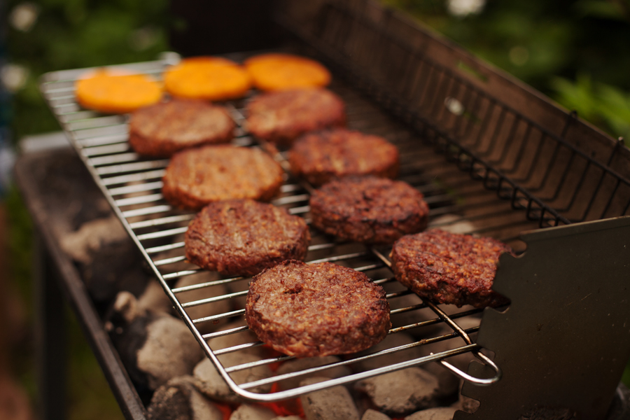 A fine array of butcher's burgers