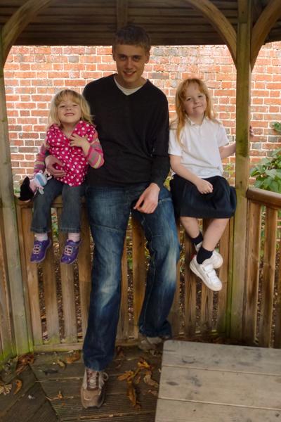 Emily, Hugh and Holly