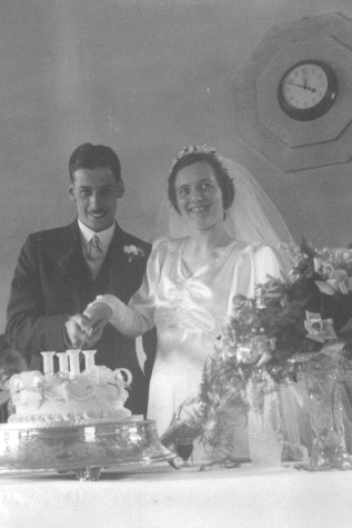 1938 Wedding day 4th June