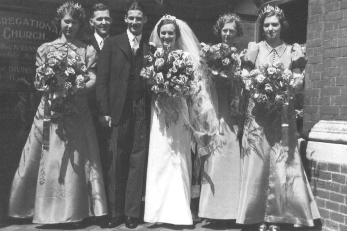 1938 Wedding day 4th June2